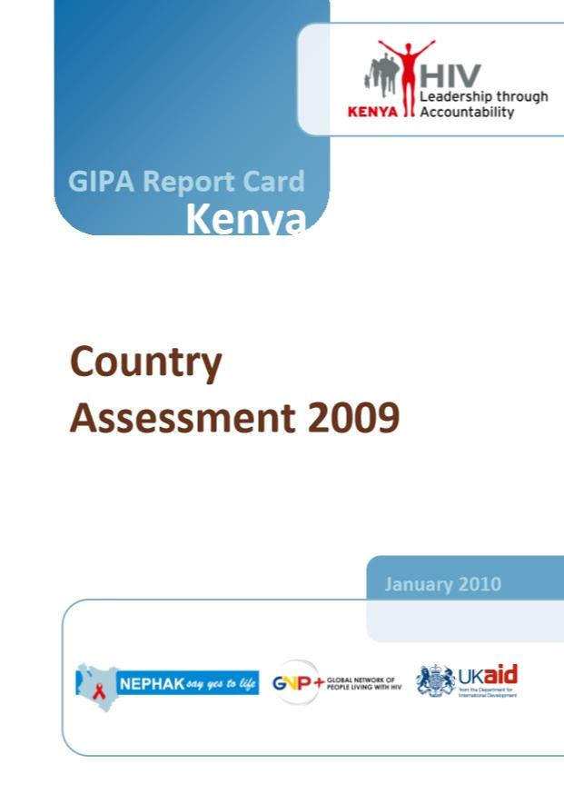 GIPA Report Card Kenya