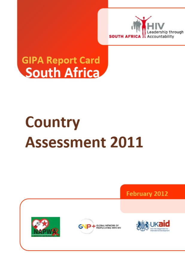 GIPA Report Card South Africa