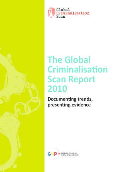 Global Criminalisation Scan Report