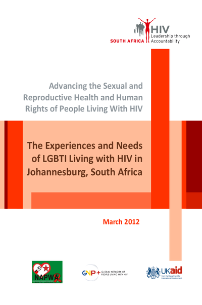 SRHR Research: The Experiences and Needs of LGBTI Living with HIV in Johannesburg, South Africa