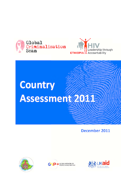 Criminalisation Scan Country Assessment – Ethiopia