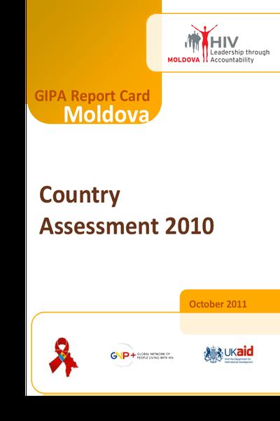 GIPA Report Card Moldova
