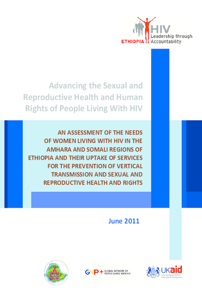 SRHR Research: Women living with HIV in Ethiopia – Amhara and Somali regions