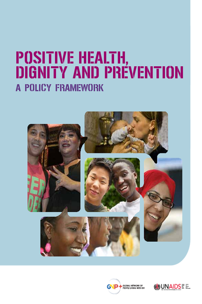 Policy framework to implement Positive Health, Dignity and Prevention