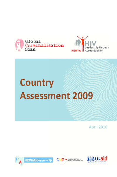 Criminalisation Scan Country Assessment – Kenya