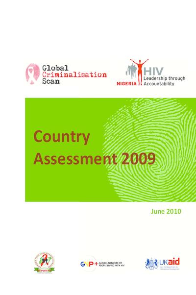 Criminalisation Scan Country Assessment – Nigeria