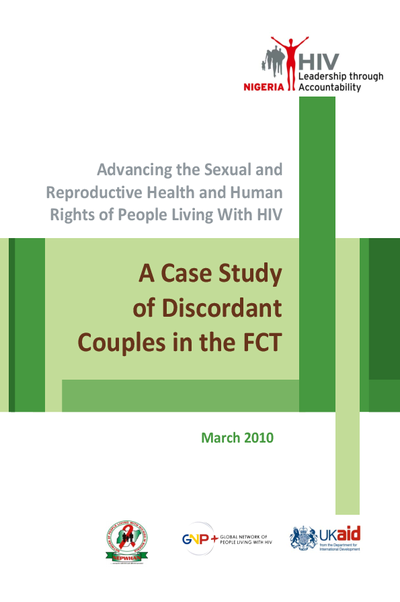 SRHR Research: Discordant couples in the Abuja Area – Nigeria