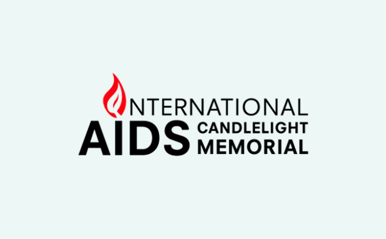 International AIDS Candlelight Memorial logo