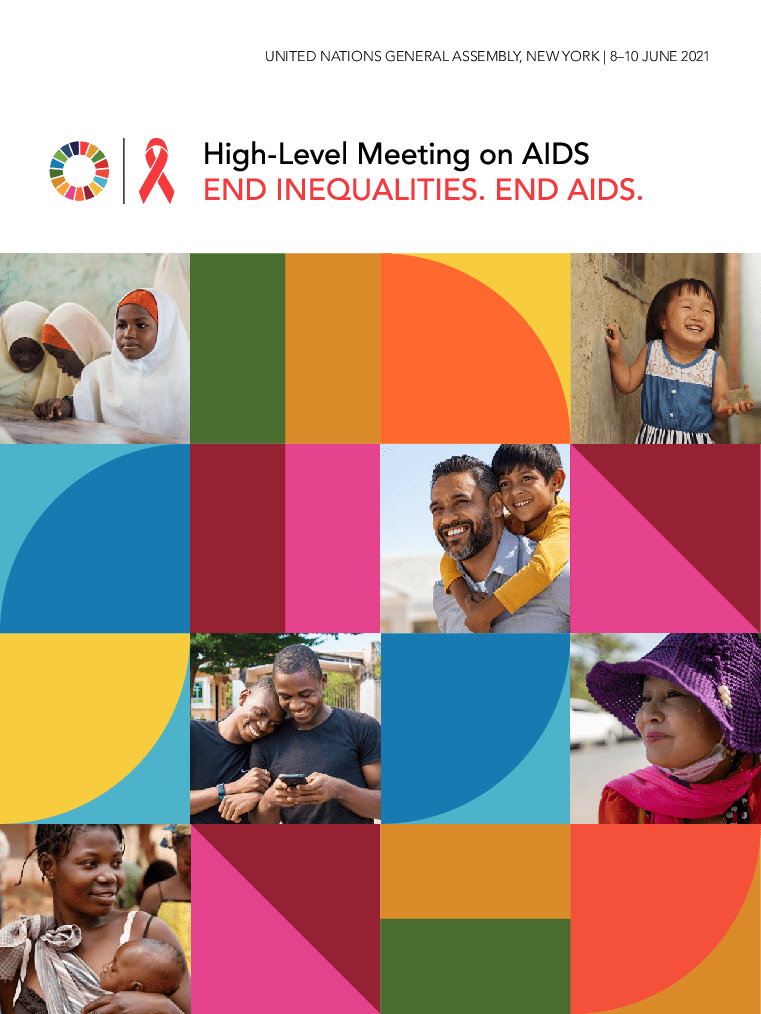 Brochure – High-Level meeting on AIDS, 8-10 June 2021