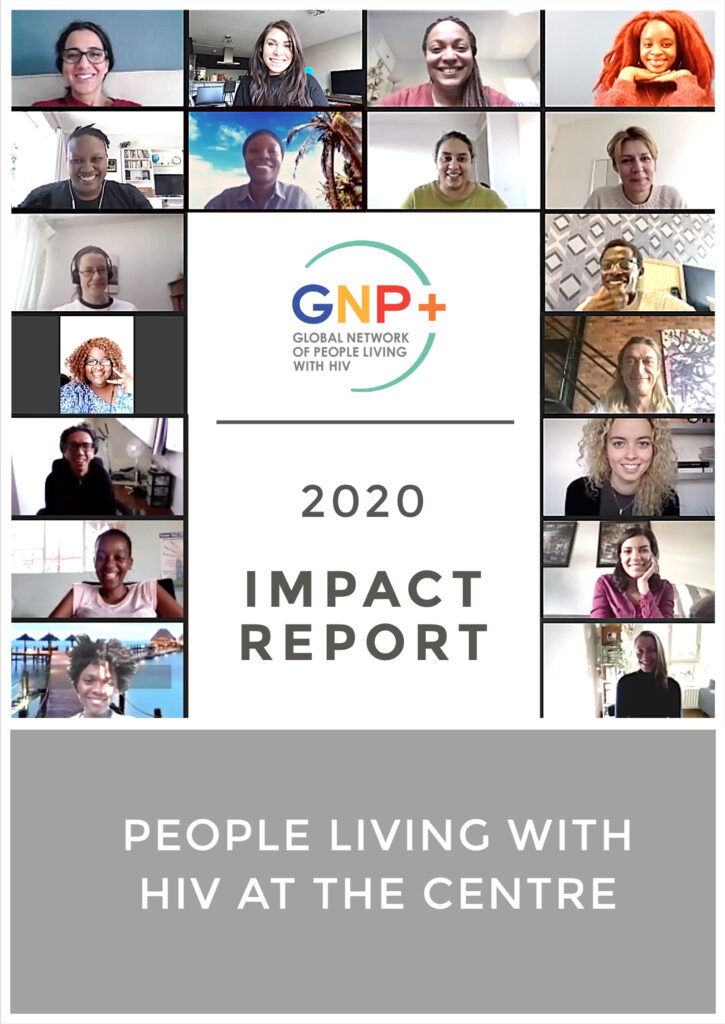 GNP+ 2020 Impact Report PDF visual
