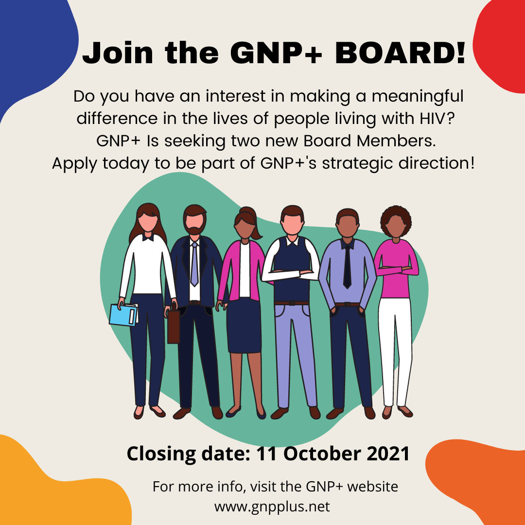 Join The GNP+ Board 2